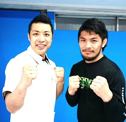 大沢ケンジさんとの2ショット写真