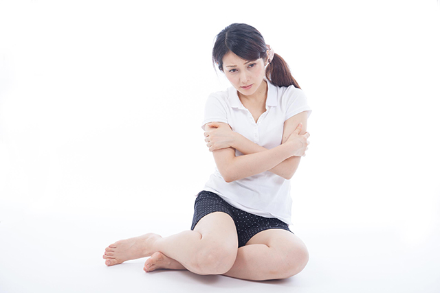 足の冷え症を整体で改善