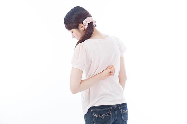 背中の痛みを改善